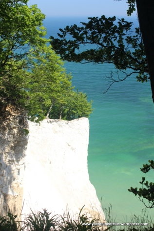 Stunning white cliffs