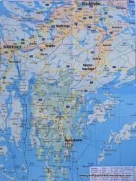 Nynäshamn in relation to Stockholm