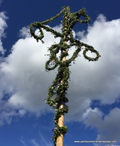 Decorated Midsummer pole