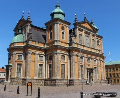 Kalmar Cathedral - built in 1702
