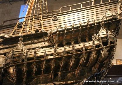 Hull detail