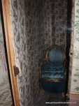 The 'throne' - hidden in cupboard when not in use!
