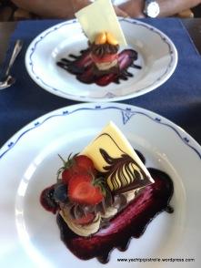 Indulgent desserts
