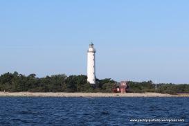 Grankulla - Lighthouse from outside harbour