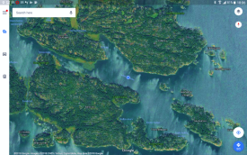 Protected anchorage at Bäno Ön, east of Mariehamn