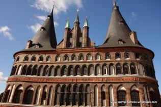 Detail of Holstentor architecture