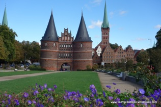 Holstentor city gate