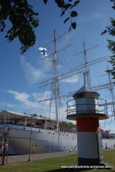 The Suomen Joutsen - full rigger