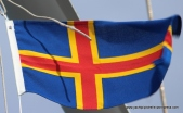Flying the courtesy flag