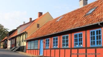 Typical buildings in Allinge