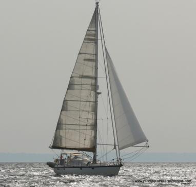 Poled out - leaving Bornholm