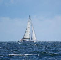 Lively sailing sometimes!