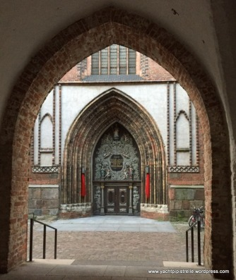 Portal of St Nicholas church