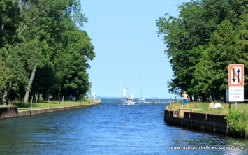 Canal entrance to Ueckermünde