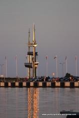 Impressive sail sculpture - Gdynia