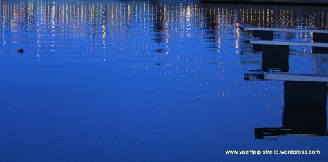 Pontoon reflections - Gdynia