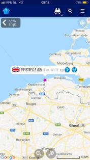 Cadzand just short of the Belgian border